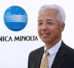 Yuji Ichimura, President Industrial Optical System Business Headquarters.