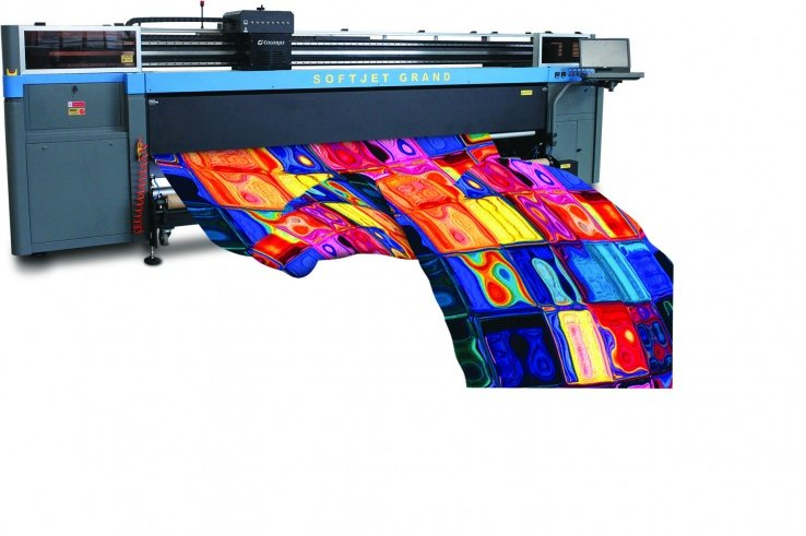 Impresora textil Colorjet Softjet Grand de ultra alta productividad.