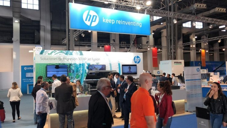 HP ha participado en el reciente In3Dustry de Barcelona.