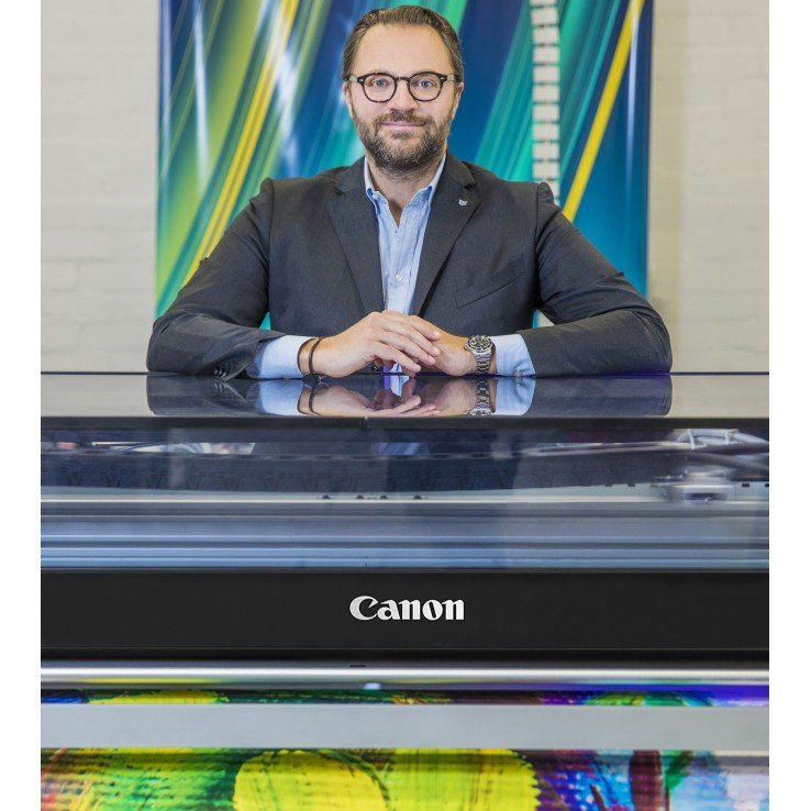 Michele Tuscano, Vice President Large Format Graphics, Canon EMEA.